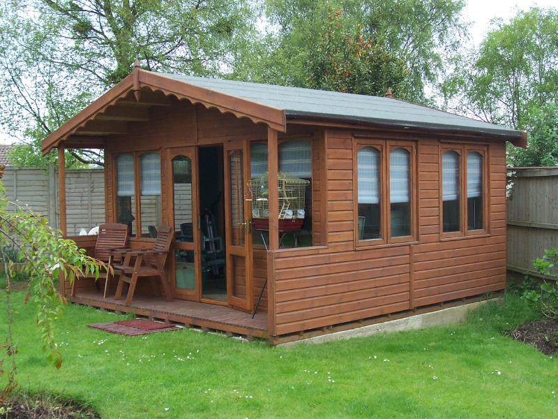 IOW Garden Rooms Centre Cranmore Room Range