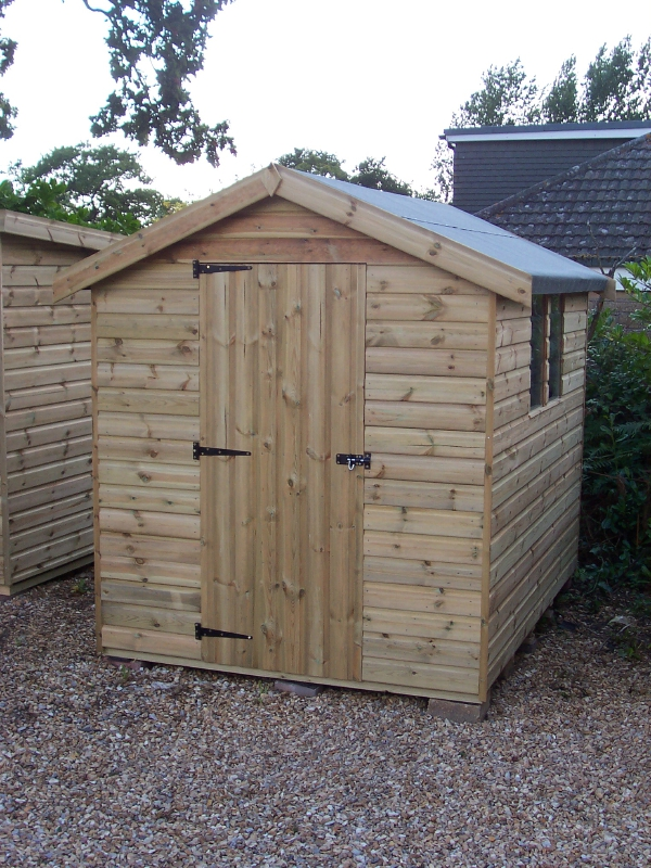 Iow garden shed centre economy apex shed range for Garden shed regulations