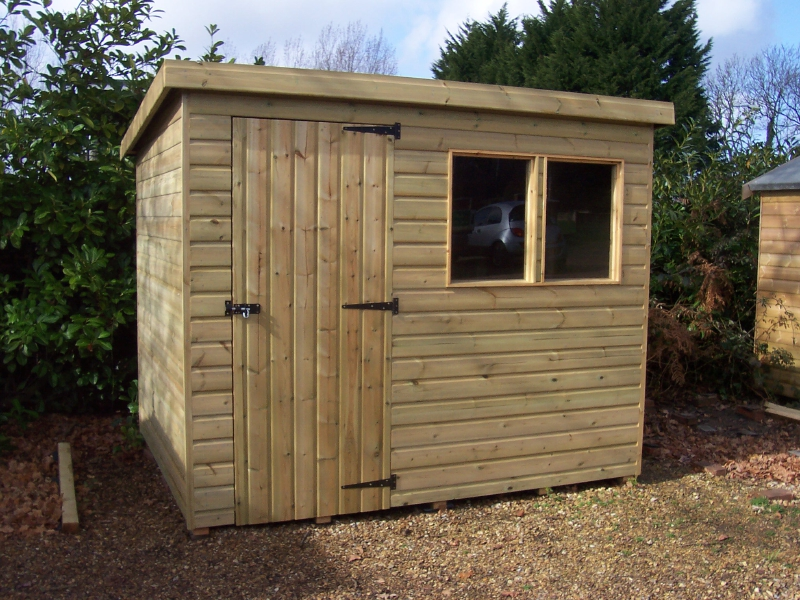 Iow Garden Shed Centre Economy Pent Shed Range