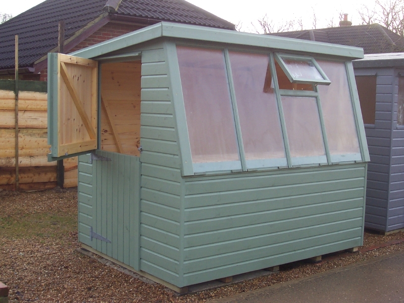 Iow Garden Shed Centre Hampshire Pent Potting Shed Range