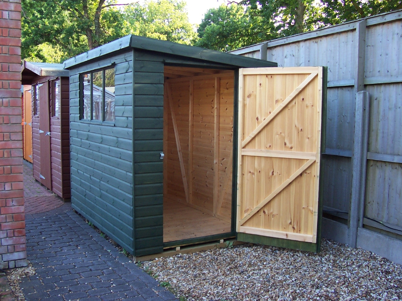 Iow Garden Shed Centre Hampshire Pent Shed Range