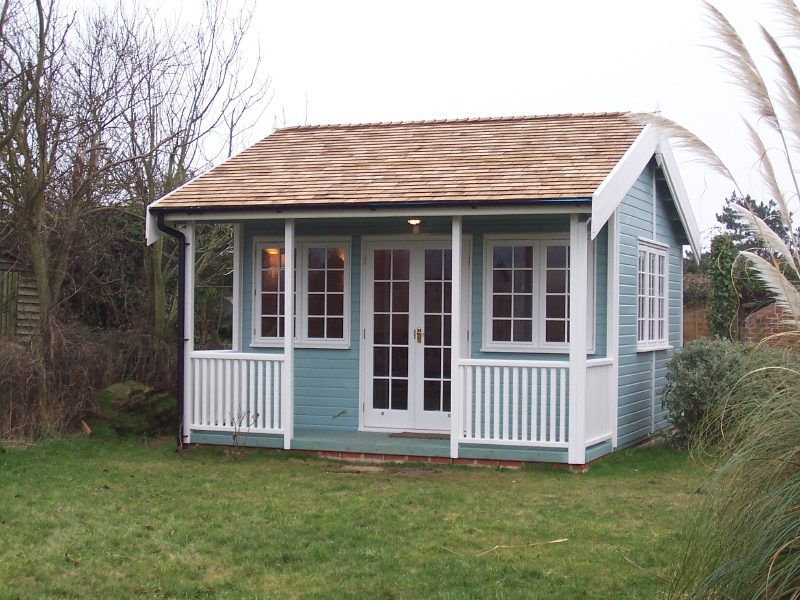 Iow Garden Rooms Centre Tennyson Garden Room Range
